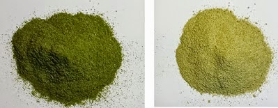 Green Virgin Extra Fine Moringa Powder compariosn