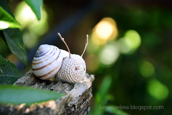 Tutorial Caracol Amigurumi Snail : Airali design. Where is the Wonderland? Crochet, knit and ...