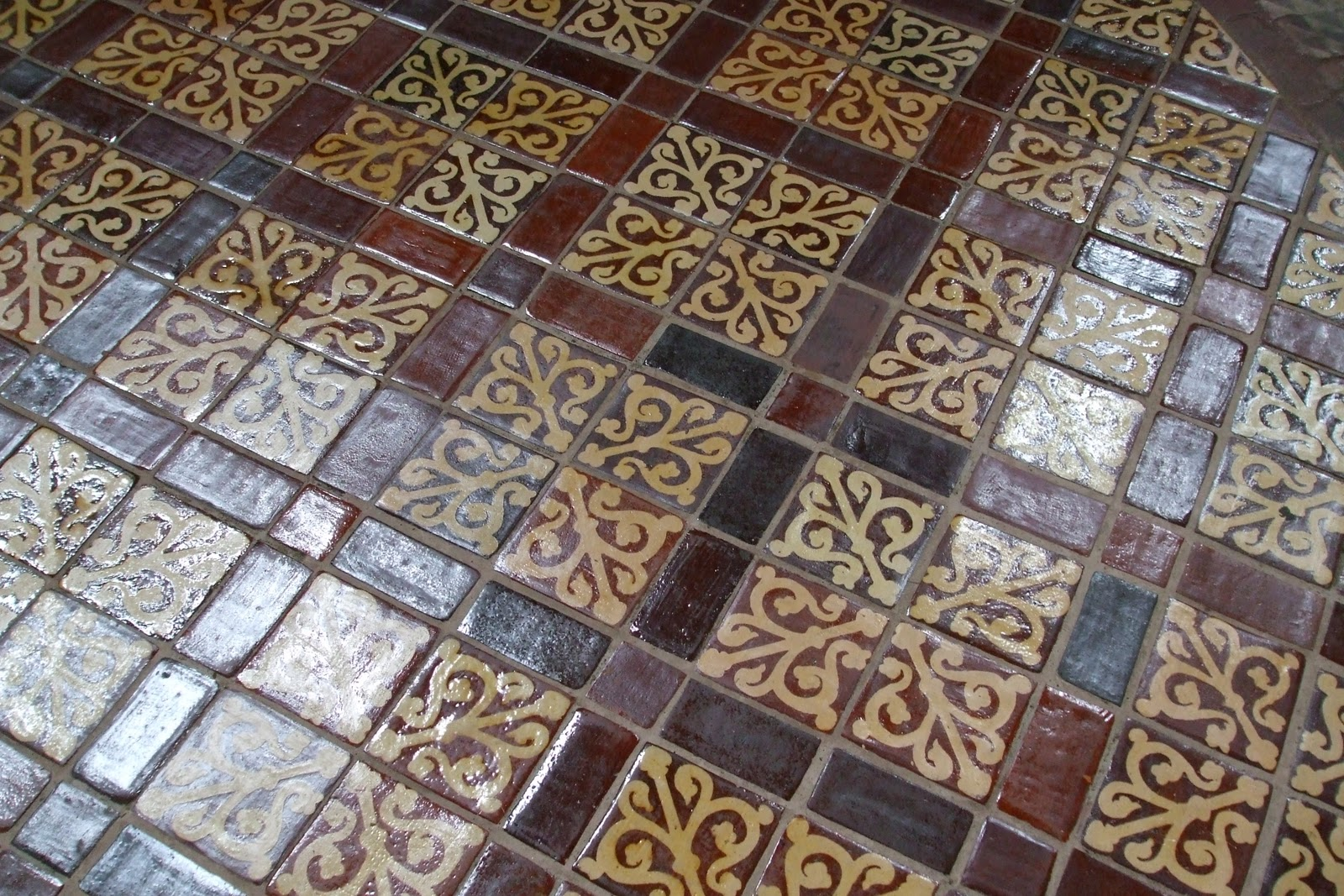The scottish home old floor tiles in winchester cathedral old floor tiles in winchester cathedral dailygadgetfo Images
