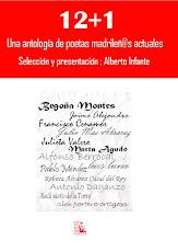 12+1 Una antología de poetas madrileñ@s actuales
