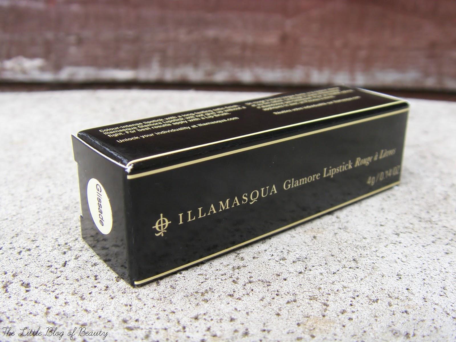 Illamasqua Glamore lipstick in Glissade
