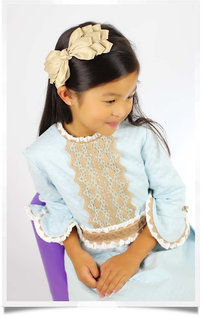 Triple Bow Headband | Republic of Pigtails | Chichi Mary Kid's Boutique