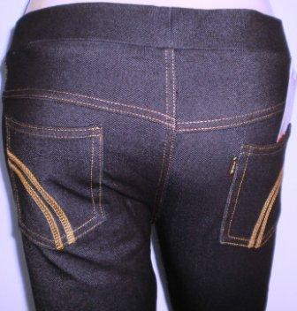 Legging jeans spandek LS02 biru