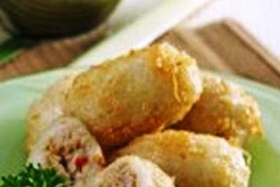 Ketan Goreng Tuna. i-Kuliner