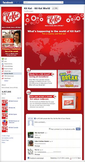 Kit Kat fan page