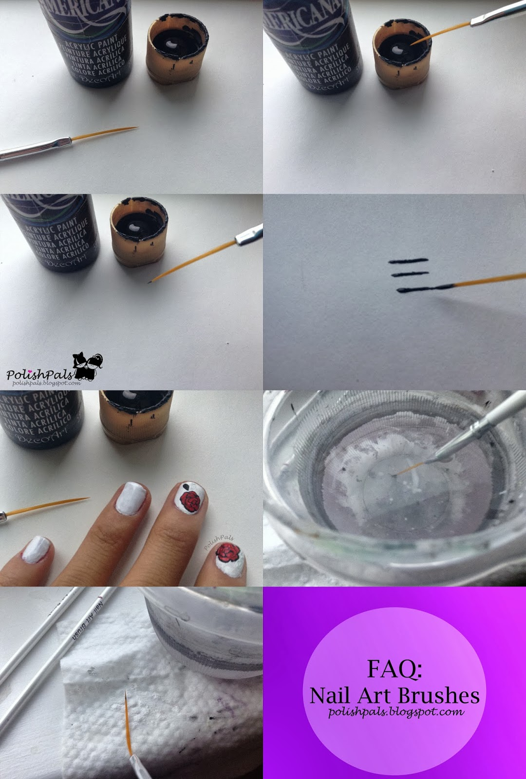Polish Pals Faq Nail Art Brushes
