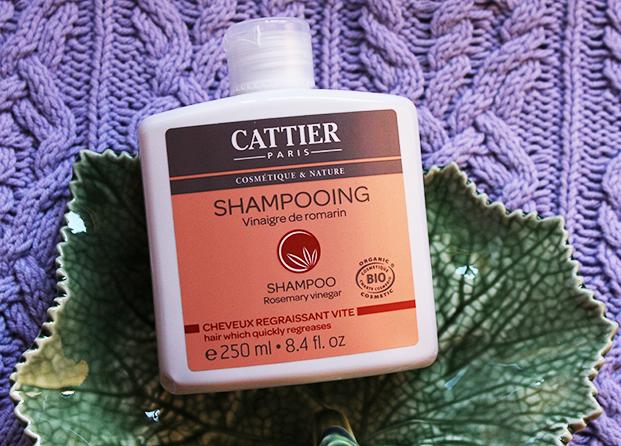 champú para cabello graso de Cattier