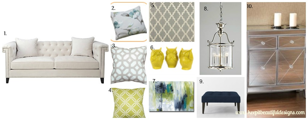 Designer Challenge: Which Sofa? (Living Room Mood Board by Keep It Beautiful)