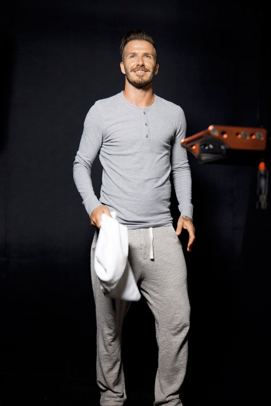David Beckham for H&M making off photos