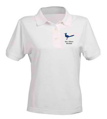 The apple basket teacher hi my name is nancy and i 39 m a for Vistaprint polo shirts review