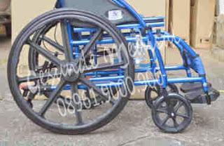 kursi roda ky869lbj warna biru