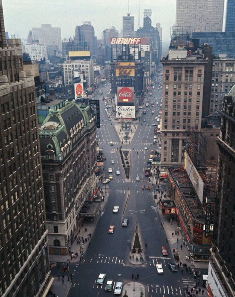 Color Photos Of New York City in the 1960s