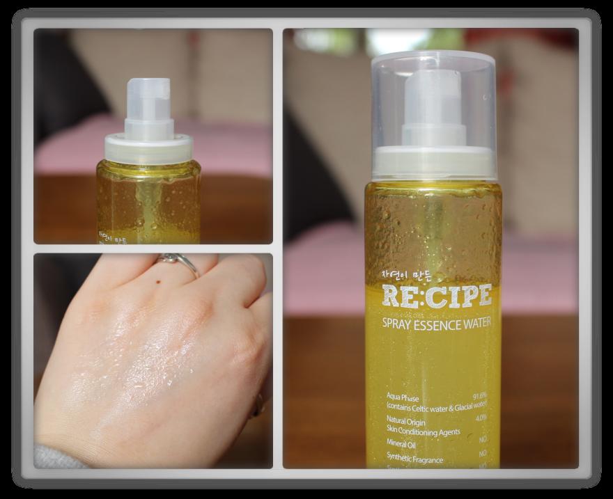 겟잇뷰티박스 by 미미박스 memebox beautybox review memeshop products haul recipe by nature Spray Water Essence
