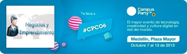 ganar una entrada para el Campus Party Colombia