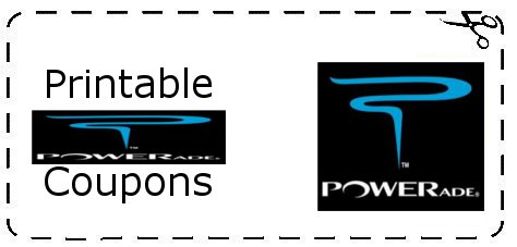 graphic about Printable Powerade Coupons called Powerade Discount coupons Printable Grocery Discount codes