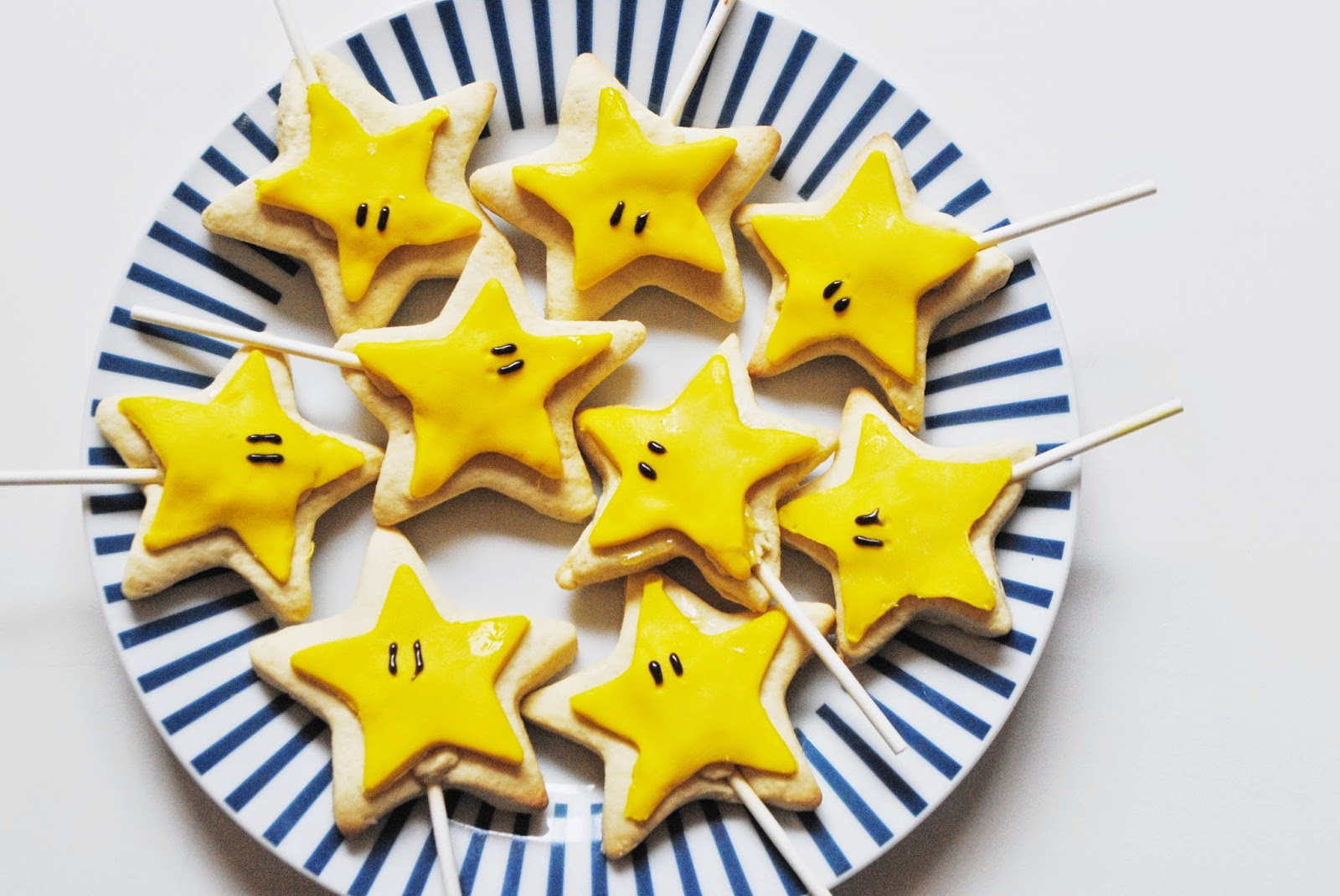 Super Mario Star Cookies