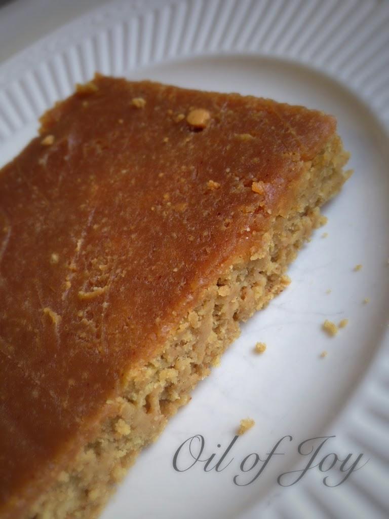 peanut butter oat cake