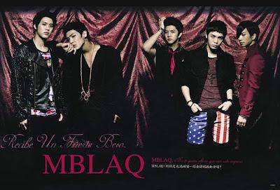 MBLAQ 2012 Poster