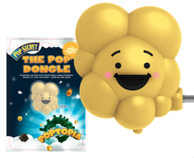 Introducing the first scented smart phone game, from Pop Secret ...