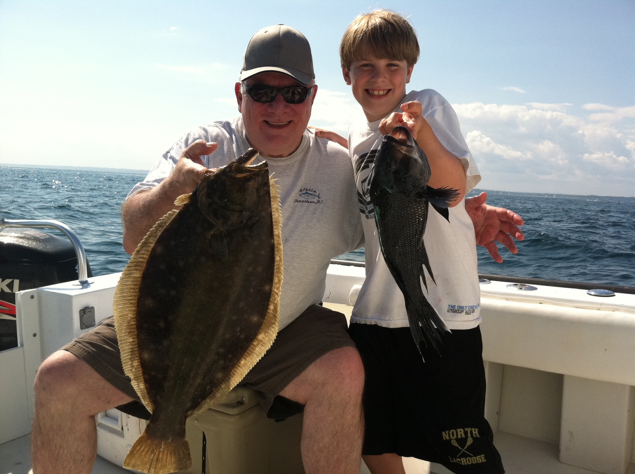 No fluke fishing black sea bass a great catch for anglers for Newport ri fishing charters