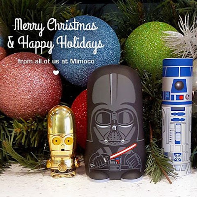 Merry Christmas & Happy Holidays from Mimobot & Mimoco