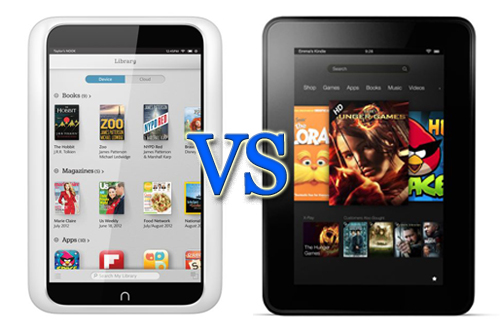 Nook HD and Fire HD Design