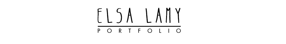 Elsa lamy - PORTFOLIO