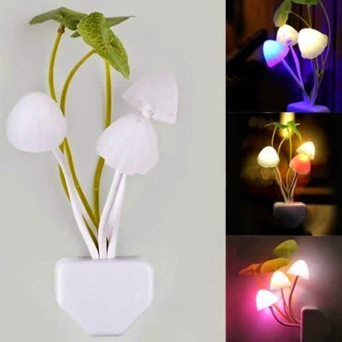 Lampu Tidur Jamur LED | Lampu Hias