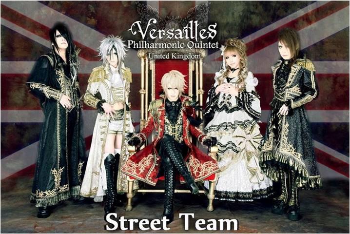 Versailles ~Philharmonic Quintet~ UK Street Team