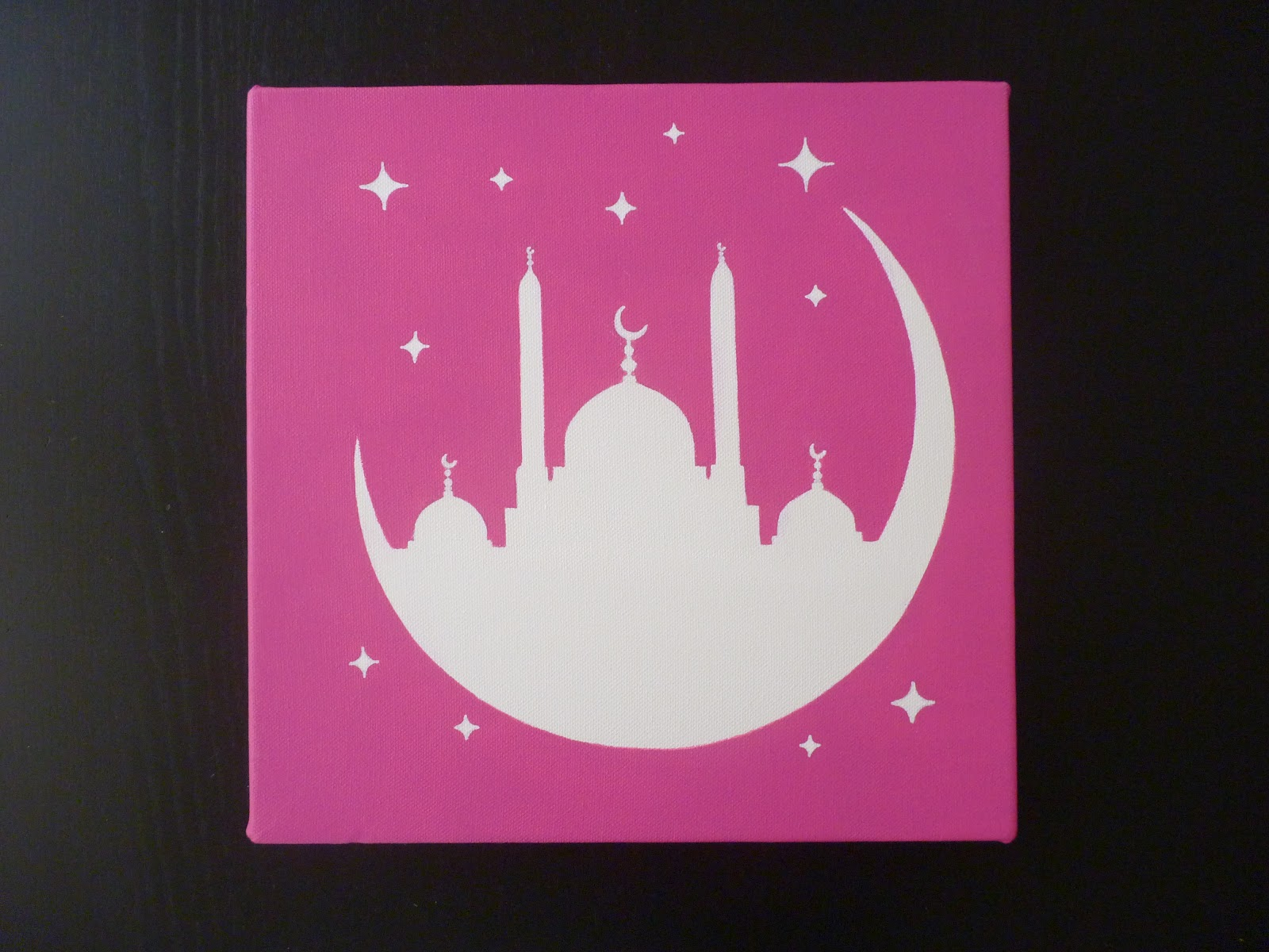 Muslimdeco calligraphies islamiques for Toile pour chambre enfant