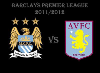 Manchester City vs Aston Villa Barclays Premier League