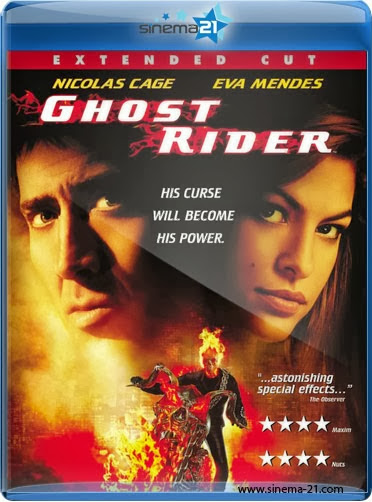 Ghost Rider 2007 Hindi Dubbed Dual BRRip 300mb