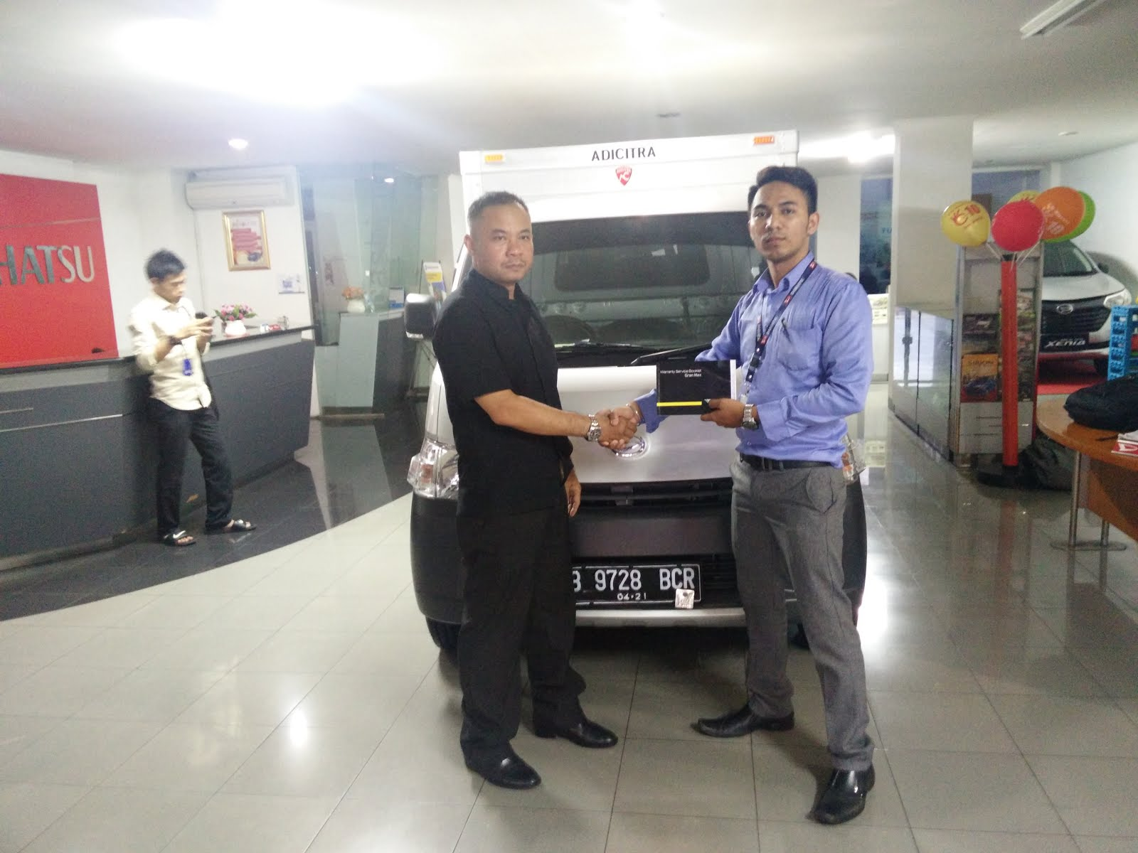 DELIVERY TO CUSTOMER