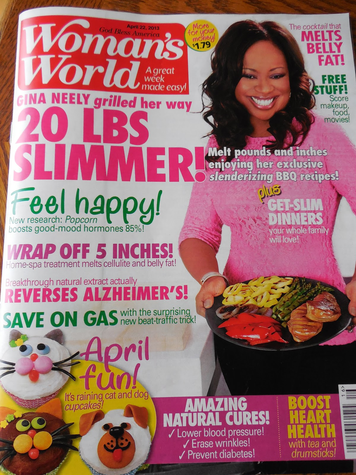Woman's World Magazine Feature!