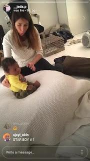 Wizkid's new born 3rd child
