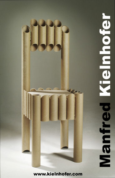 The Environment Friendly Paper Tube Chair + Interlux Chair ...