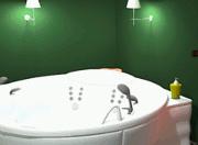 Green Bathroom Escape