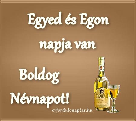 Szeptember 1 - Egyed, Egon névnap