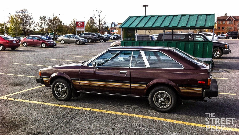 The Street Peep Submission 1982 Toyota Corolla Sr 5 Liftback