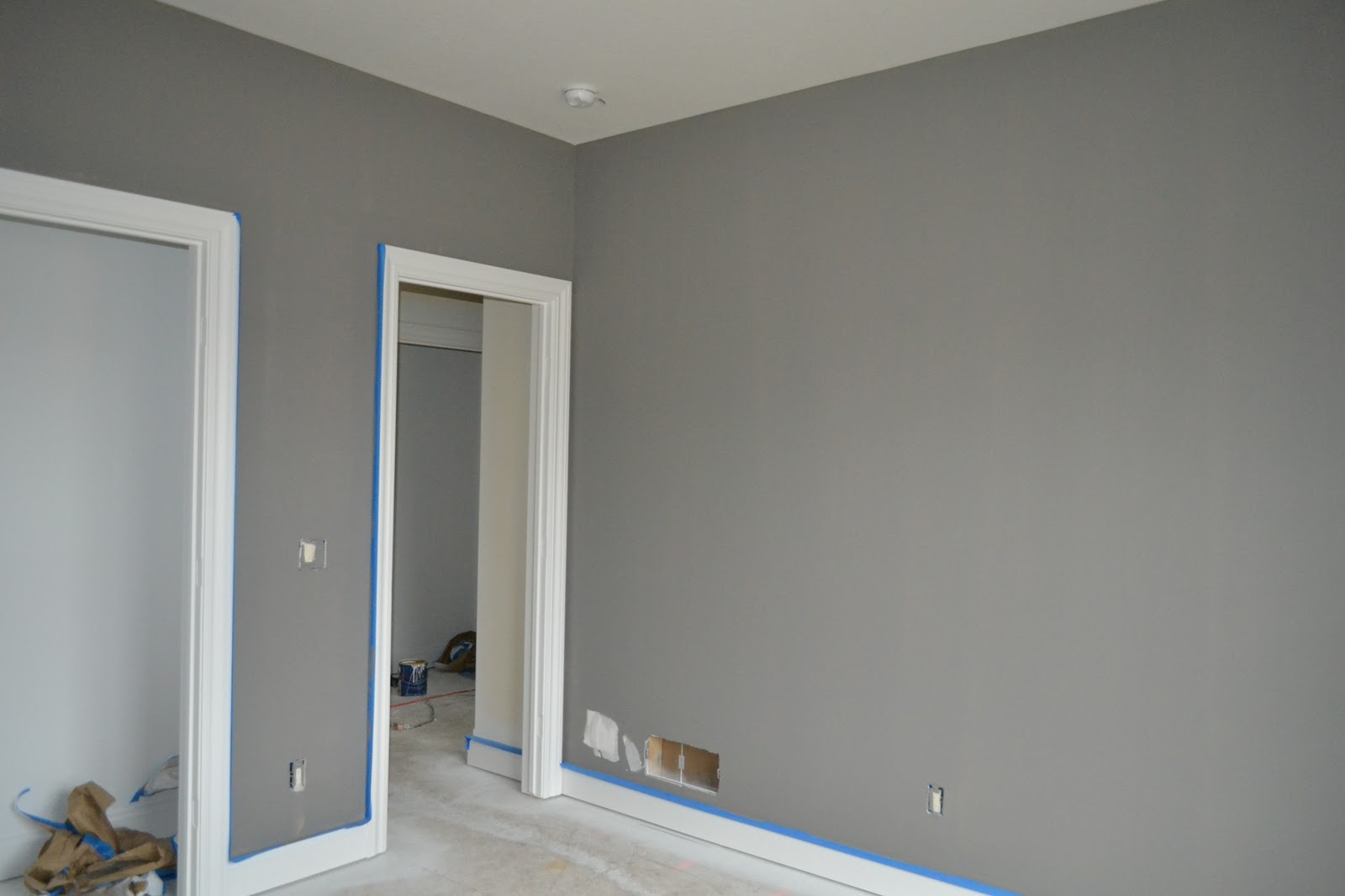 Paint colors on pinterest behr gray and painted for Sherwin and williams paint