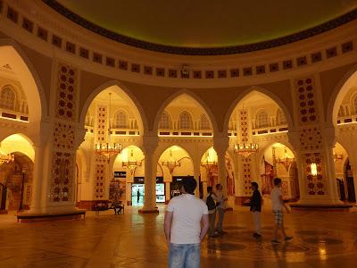 Centro comercial de Dubai, oro