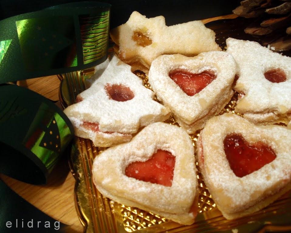 Постни ванилови сладки