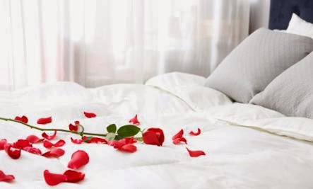 What It Means to Penetrate - romance romantic bedroom bed sheets flowers