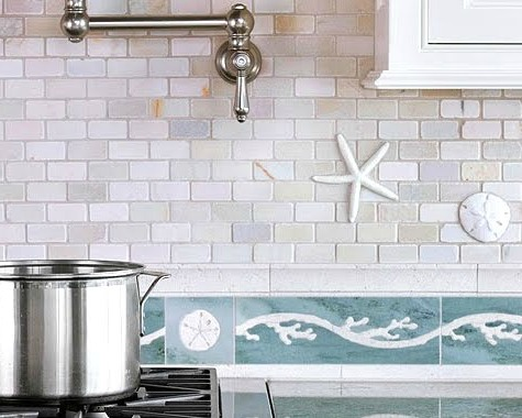 Beachy Kitchen Backsplash Ideas