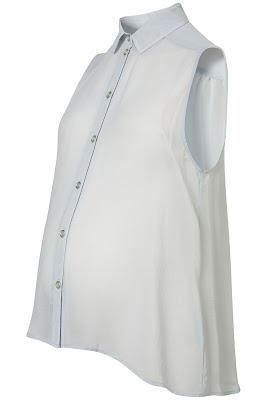 maternity chiffon shirt