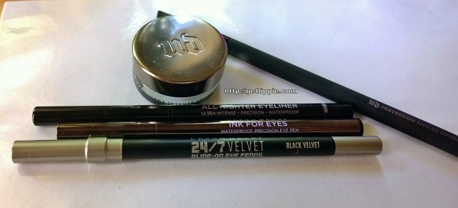 Urban Decay Black Eyeliner Collection