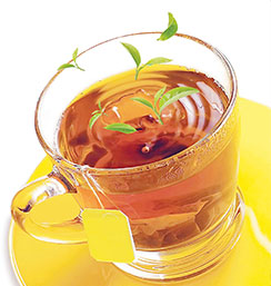 It's time for tea in your life