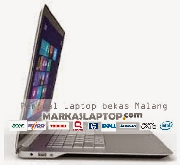 penjual laptop second malang