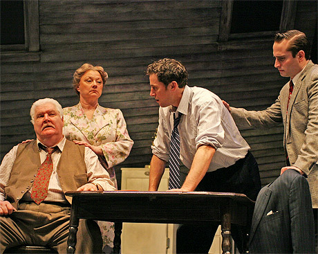 father and son relationship in death of a salesman play