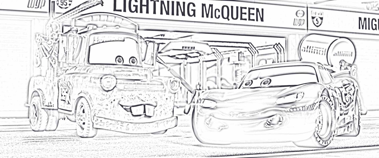 cars 2 coloring pictures part 2